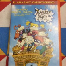 Cine: VHS RUGRATS EN PARÍS. LA PELÍCULA. 2000.. Lote 261649070