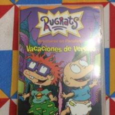 Cine: VHS RUGRATS. AVENTURAS EN PAÑALES. VACACIONES DE VERANO. TEMPORADA 4. TV EPISODE. 1997.. Lote 261649115