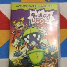 Cine: VHS RUGRATS. AVENTURA EN PAÑALES. LA PELÍCULA. 1998.. Lote 261649235