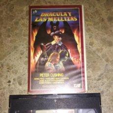Cine: VHS. DRÁCULA Y LAS MELLIZAS. TJE. HAMMER. Lote 261694195