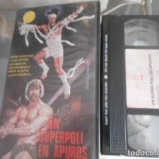Cinema: VHS - UN SUPERPOLI EN APUROS - 23. Lote 261916040