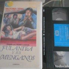Cinema: VHS - FULANITA Y SUS MENGANOS . 24. Lote 261916105