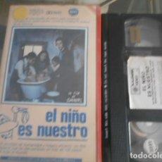 Cinema: VHS - EL NIÑO ES NUESTRO - 25. Lote 261916170