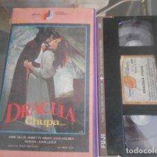 Cinema: VHS - DRACULA CHUPA - 26. Lote 261916230