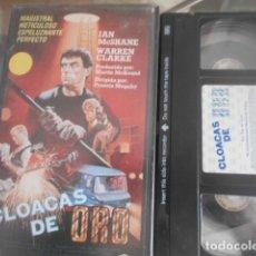 Cinema: VHS - CLOACAS DE ORO - 31. Lote 261917070