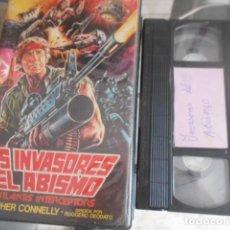 Cinema: VHS - LOS INVASORES DEL ABISMO - 39. Lote 261917785