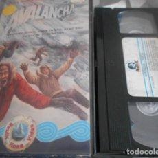 Cinema: VHS - AVALANCHA MORTAL - 15. Lote 262038080