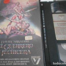 Cinema: VHS - EL GUERRERO Y LA HECHICERA - 20. Lote 262038460