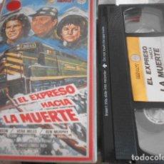 Cinema: VHS - EL EXPRESO HACIA LA MUERTE - 24. Lote 262038960