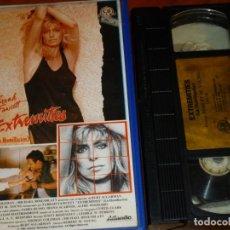 Cine: EXTREMITIES LA HUMILLACION - ROBERT M YOUNG, FARRAH FAWCETT, JAMES RUSSO - CB FILMS - VHS. Lote 262051180
