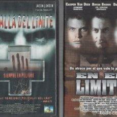 Cinema: VHS 2 X 1 - MAS ALLA DEL LIMITE / EN EL LIMITE. Lote 262051340