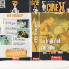 Cine: VHS - CINE X INTERVIU Nº 139 - LA HIJA DEL SENADOR - AÑO DE PRODUCCION 1979. Lote 262069760