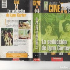 Cine: VHS - CINE X INTERVIU Nº 141 - LA SEDUCCION DE LYNN CARTER - SHARON THORPE - AÑO PRODUCCION 1974. Lote 262071280