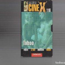 Cine: VHS - CINE X INTERVIU Nº 116 - TABOO - AÑO PRODUCCION 1980. Lote 262072290