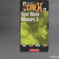 Cine: VHS - CINE X INTERVIU Nº 22 - NEW WAVE HOOKERS 3 - AÑO PRODUCCION 1985. Lote 262072670