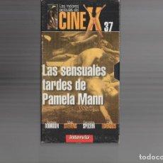 Cine: VHS - CINE X INTERVIU Nº 37 - LAS SENSUALES TARDES DE PAMELA MANN - BARBARA BOURBON - AÑO 1974. Lote 262073000