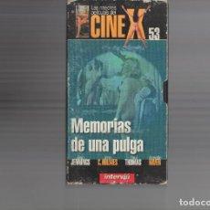 Cine: VHS - CINE X INTERVIU Nº 53 - MEMORIAS DE UNA PULGA - ANETTE HAVEN - AÑO 1976. Lote 262073670