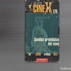 Cine: VHS - CINE X INTERVIU Nº 176 - SENDAS PROHIBIDAS DEL SEXO - SAMANTHA FOX - AÑO 1978. Lote 262074030