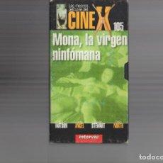 Cine: VHS - CINE X INTERVIU Nº 105 - MONA LA VIRGEN NINFOMANA - SUSAN STEWART - AÑO 1970. Lote 262074615