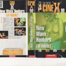 Cine: VHS - CINE X INTERVIU Nº 99 - NEW WAVE HOOKERS (EL INICIO) - GINGER LYNN - AÑO 1985. Lote 262075140
