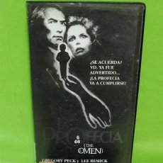 Cine: VHS - LA PROFECIA / THE OMEN - GREGORY PECK, LEE REMICK, DAVID WARNER - TERROR. Lote 262132790