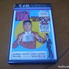 Cine: JENARO EL DE LOS 14 / RARISIMA 1ª EDICION VHS EN BUEN ESTADO. Lote 262208755