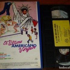 Cine: EL ÚLTIMO AMERICANO VIRGEN - LAWRENCE MONOSON, DIANE FRANKLIN, STEVE ANTIN, JOE RUBBO - VHS. Lote 262250415