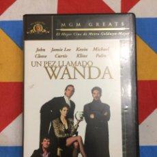 Cine: VHS. UN PEZ LLAMADO WANDA. JOHN CLEESE. JAMIE LEE CURTIS. 1988.. Lote 262331040