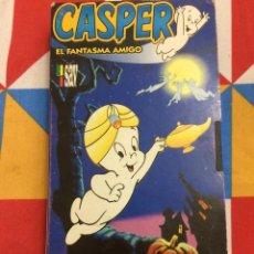 Cine: VHS. CASPER. EL FANTASMA AMIGO. CASPER EL GENIO. DIVERSIÓN BAJO EL MAR. 1979.. Lote 262331125