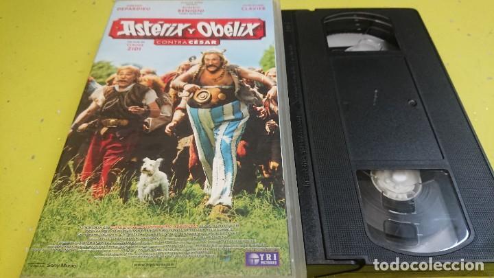 PELICULA VHS ASTERIX Y OBELIX CONTRA CESAR (Cine - Películas - VHS)
