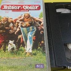 Cine: PELICULA VHS ASTERIX Y OBELIX CONTRA CESAR. Lote 262612920