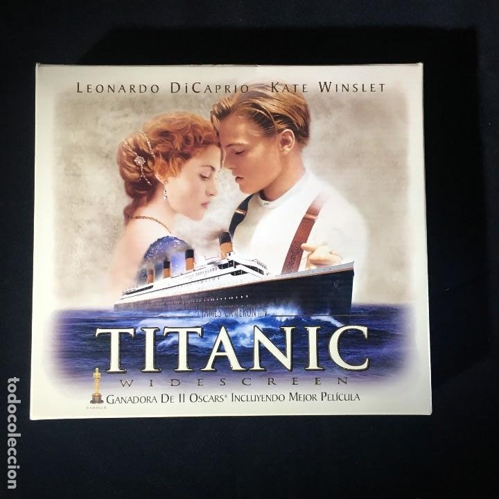 VHS TITANIC VERSION COLECIONISTA (Cine - Películas - VHS)