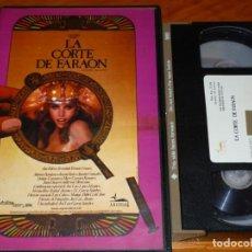 Cine: LA CORTE DEL FARAON - JOSE LUIS GARCIA SANCHEZ, ANA BELEN, FERNANDO FERNAN GOMEZ - VHS. Lote 262883755
