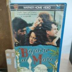 Cine: BAJARSE AL MORO - FERNANDO COLOMO - VERONICA FORQUE , ANTONIO BANDERAS - WARNER 1989. Lote 262896095