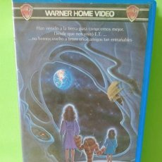 Cine: VHS - HYPER SAPIEN 1984 AMIGOS DE LAS ESTRELLAS - E. T. VERSIÓN CANADIENSE. 1ªED WARNER BROS. Lote 262896480