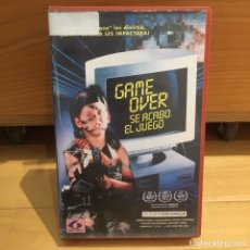 Cine: GAME OVER VHS. Lote 262899785