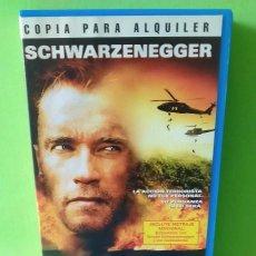 Cine: VHS - DAÑO COLATERAL 2001 ANDREW DAVIS - ARNOLD SCHWARZENEGGER - JOHN TURTURRO - WARNER BROS. Lote 262899970