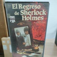 Cine: EL REGRESO DE SHERLOCK HOLMES - KEVIN CONNOR - MARGARET COLIN , MICHAEL PENNINGTON - CBS 1987. Lote 262900695