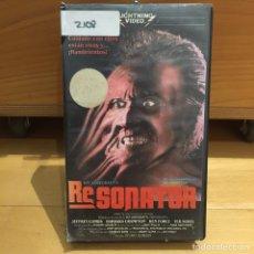 Cine: RESONATOR VHS. Lote 262900970