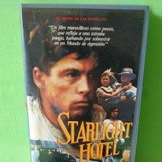 Cine: VHS - STARLIGHT HOTEL 1987- SAM PILLSBURY. 1ª ED VÍDEO CLUB. Lote 262901215