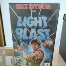 Cine: LIGHT BLAST - ENZO CASTELLARI - ERIK ESTRADA , MIKE PRITCHARD - DISTER 1985. Lote 262901280
