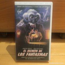 Cine: EL SECRETO DE LOS FANTASMAS VHS. Lote 262902365