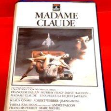 Cine: MADAME CLAUDE (1977) - FRANÇOISE FABIAN, MURRAY HEAD, DAYLE HADDON. Lote 262988515