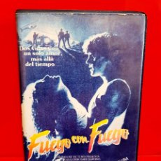 Cine: FUEGO CON FUEGO (1986) - CRAIG SHEFFER, VIRGINIA MADSEN, JON POLITO. Lote 263107200