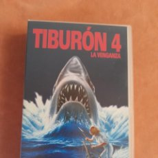 Cine: TIBURON 4 - VHS. Lote 266579078
