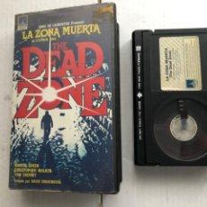 Cinéma: LA ZONA MUERTA STEPHEN KING THE DEAD ZONE BETA - CINTA VHS KREATEN. Lote 266751683