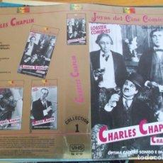 "Cine: CHARLES CHAPLIN, CHARLOT 1 (""SOLO CARATULA""). Lote 266978879"