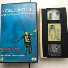 Cinéma: VIDEODROME UNA EXPERIENCIA ALUCIANANTE JAMES WOODS DEBORAH HARRY - CINTA VSH KREATEN. Lote 267091669