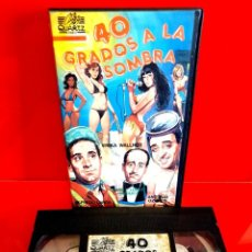 Cine: 40 GRADOS A LA SOMBRA (1967) - GRACITA MORALES, ANTONIO OZORES, ALFREDO LANDA. Lote 267481364