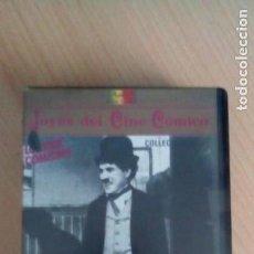 Cine: CHARLES CHAPLIN. JOYAS DEL CINE COMICO. VHS. Lote 267908954